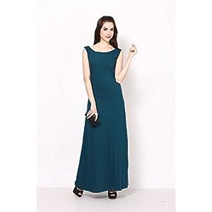 Eavan EA647 Teal Green Maxi Dress