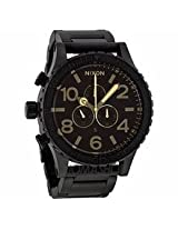 Nixon 51-30 Chrono Matte Black Mens Watch A0831354