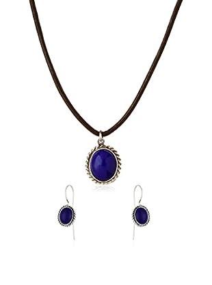 URBAN STYLE Set Halskette, Anhänger und Ohrringe Motagua Sterling-Silber 925
