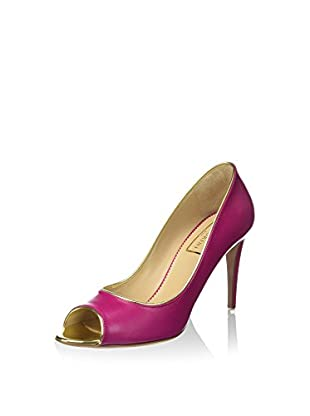 Mambrini Zapatos peep toe Louvre