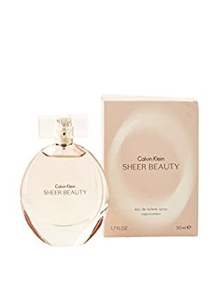 CALVIN KLEIN Eau de Toilette Damen Ck Beauty Sheer 50 ml, Preis/100 ml: 77.9 EUR