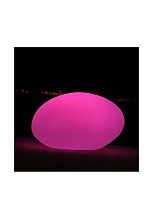Artkalia Ballia Wireless LED Pebble, White Opaque