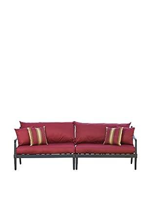 RST Brands Astoria 2-Piece Sofa, Red
