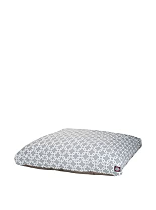 Links Small Rectangle Pet Bed, Grey