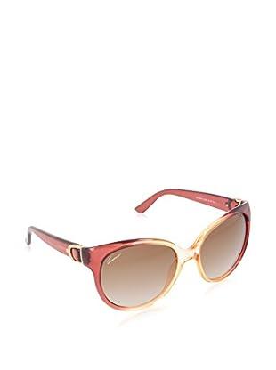 GUCCI Gafas de Sol 3679/ S 81 4SS (56 mm) Granate