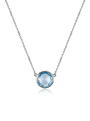 Melin Paris Collar Blue Topaz Plata