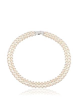 Manufacture Royale des Perles du Pacifique Halskette  weiß