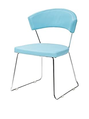 TUONI Stuhl 4er Set Bacco azurblau