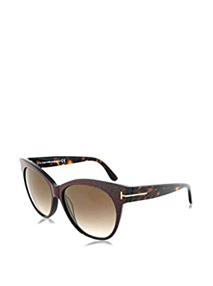 Tom Ford Occhiali da sole Saskia (57 mm) Marrone