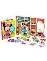 Minnie Mouse Magnetic Dress-Up and Storybook Set (50-Piece)