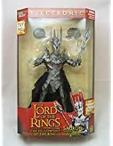 Lord Of The Rings Sauron Figure Electronic Light Up And Sound