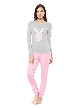 PLAYBOY Nightwear Pijama Cozy Nights