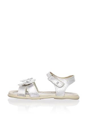 Ortopasso Kid's Ankle-Strap Sandal (Silver)