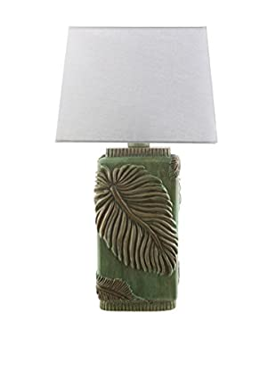 Surya Lana Outdoor Table Lamp, Green