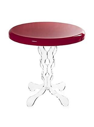 Iplex Design Beistelltisch Arabesco Big Indoor/Outdoor rot
