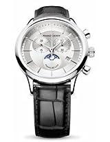 Maurice Lacroix Les Classiques Silver Dial Chronograph Mens Watch Lc1148-Ss001-131