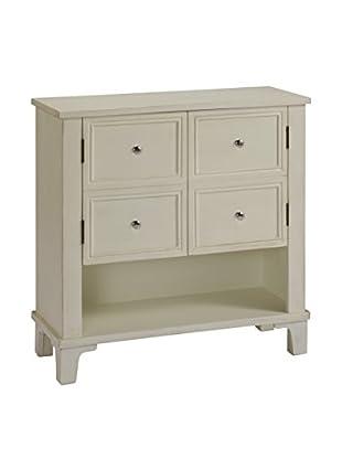 Coast to Coast 2-Door Cabinet, Ivory