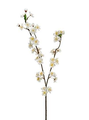 Kunstblumen 24 tlg. Set weiß