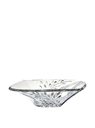 Dale Tiffany Leaf Crystal Bowl, Clear