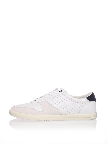 Clae Men's Gregory Sneaker (White Leather)