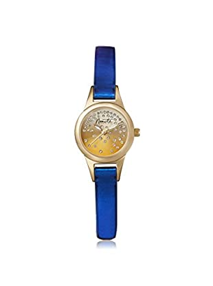Nanette Lepore Women's 80707 Blue/Gold-Tone Alloy Watch