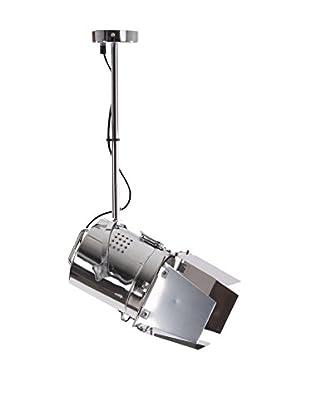 Deckenlampe silber