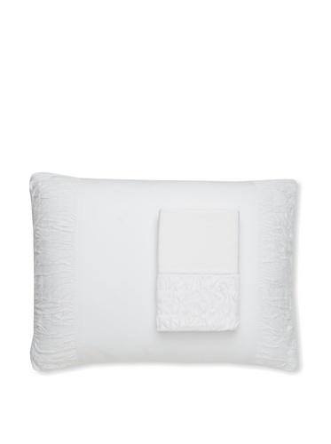lazybones Set of 2 Pillowcases (White)