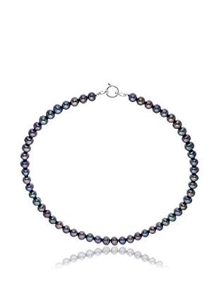 Manufacture Royale des Perles du Pacifique Halskette Choker schwarz