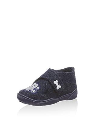 Fischer Zapatos Jungen-Klett-Hausstiefel