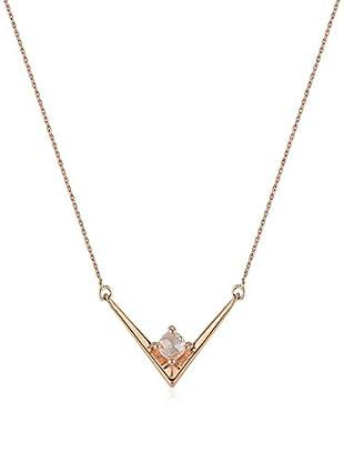 Divas Diamond Collar Diamond Gold V Necklace