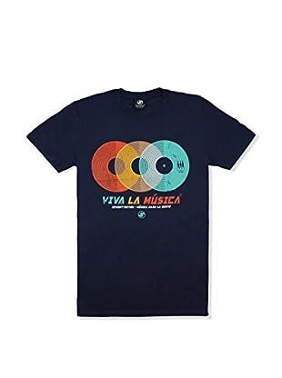Seventy Seven Camiseta Manga Corta Viva La Musica