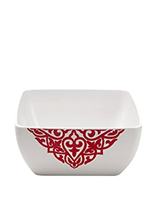 Q SQUARED NYC Red Diamond Serving Bowl