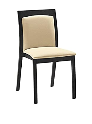 Domitalia Best Lacquered Chair, Black