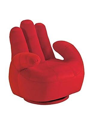 Contemporary Living Sillón Poltrona Bambino Mano Rojo