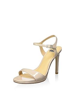 Bata 7618550 Sandali con cinturino alla caviglia, Donna, Beige, 41