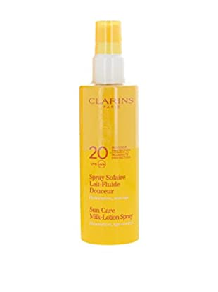 Clarins Spray Solare Lait-Fluide Douceur 20 SPF 150.0 ml