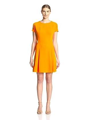 Sharagano Women's Short Sleeve Aline Dress