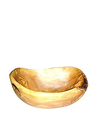 Le Souk Olivique Natural Form Medium Oval Olive Wood Bowl