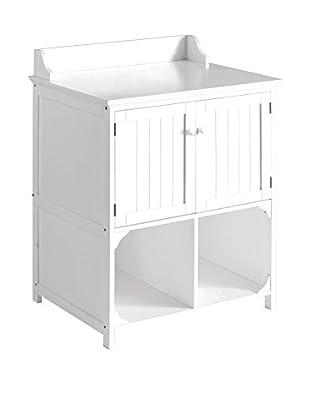 Premier Housewares Badschrank 2401450 weiß