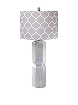 Surya Sandy 1-Light Table Lamp, Washed Gray