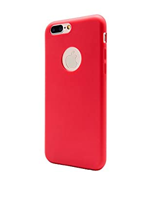 UNOTEC Funda Second Skin iPhone 7 Plus Rojo