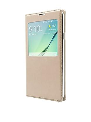 Unotec Funda Flip-S Samsung Galaxy S5 Dorado