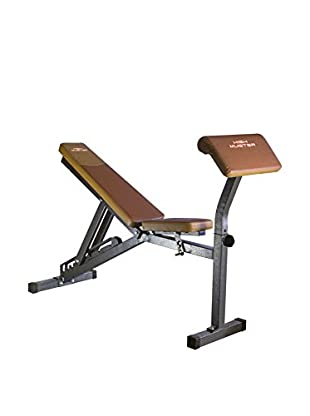 High Muster Panca Fitness Multi Bench Marrone