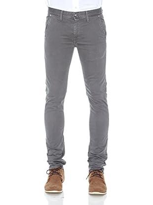 Pepe Jeans London Pantalón Hatcher (Gris)