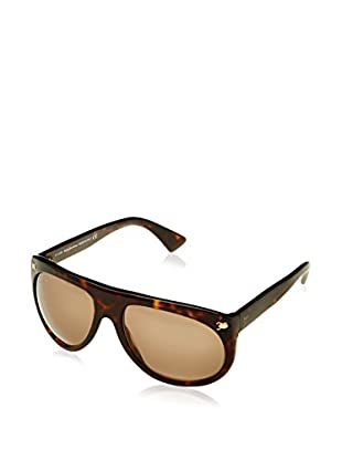 John Galliano Gafas de Sol JG0017 (59 mm) Marrón Oscuro