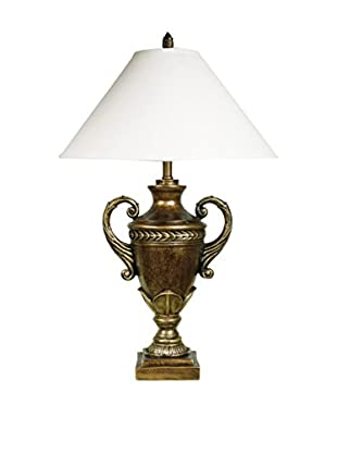 ORE International Trophy Cup Table Lamp, Gold