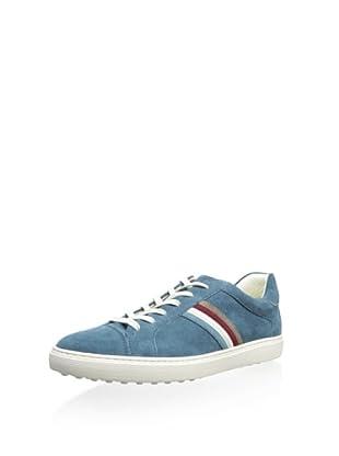 Tod's Men's Striped Sneaker (Light Blue)
