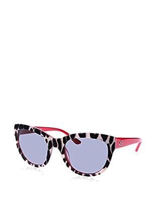 GUESS Sonnenbrille 7429 (56 mm) schwarz/elfenbein