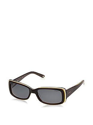 Polaroid Occhiali da sole P9367_8W5 (55 mm) Nero/Giallo/Bianco