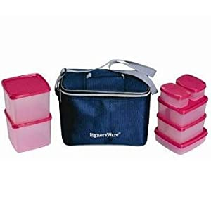 Signoraware Picnic Lunch Set With Bag